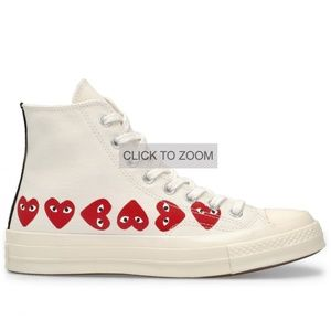 Comme Des Gascon Play White Chuck Taylor All Star